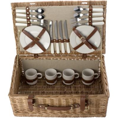 Image of Picnic basket for 4 people.