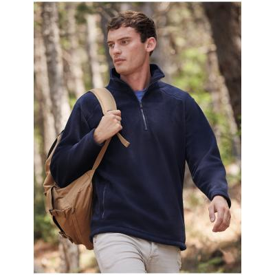 Image of Fruit Of The Loom Half Zip Outdoor Fleece