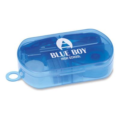 Image of Stationery set in plastic box